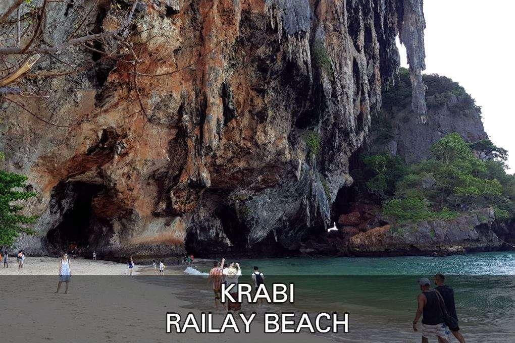 Foto met link naar het artikel over Railay Beach in Krabi