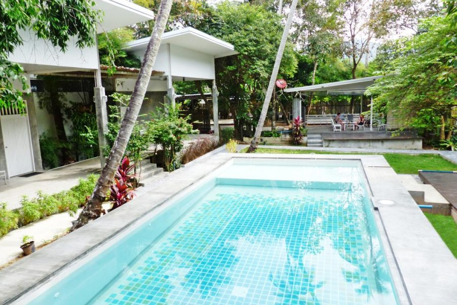 Swimming pool of Glur Hotel, Ao Nang, Krabi