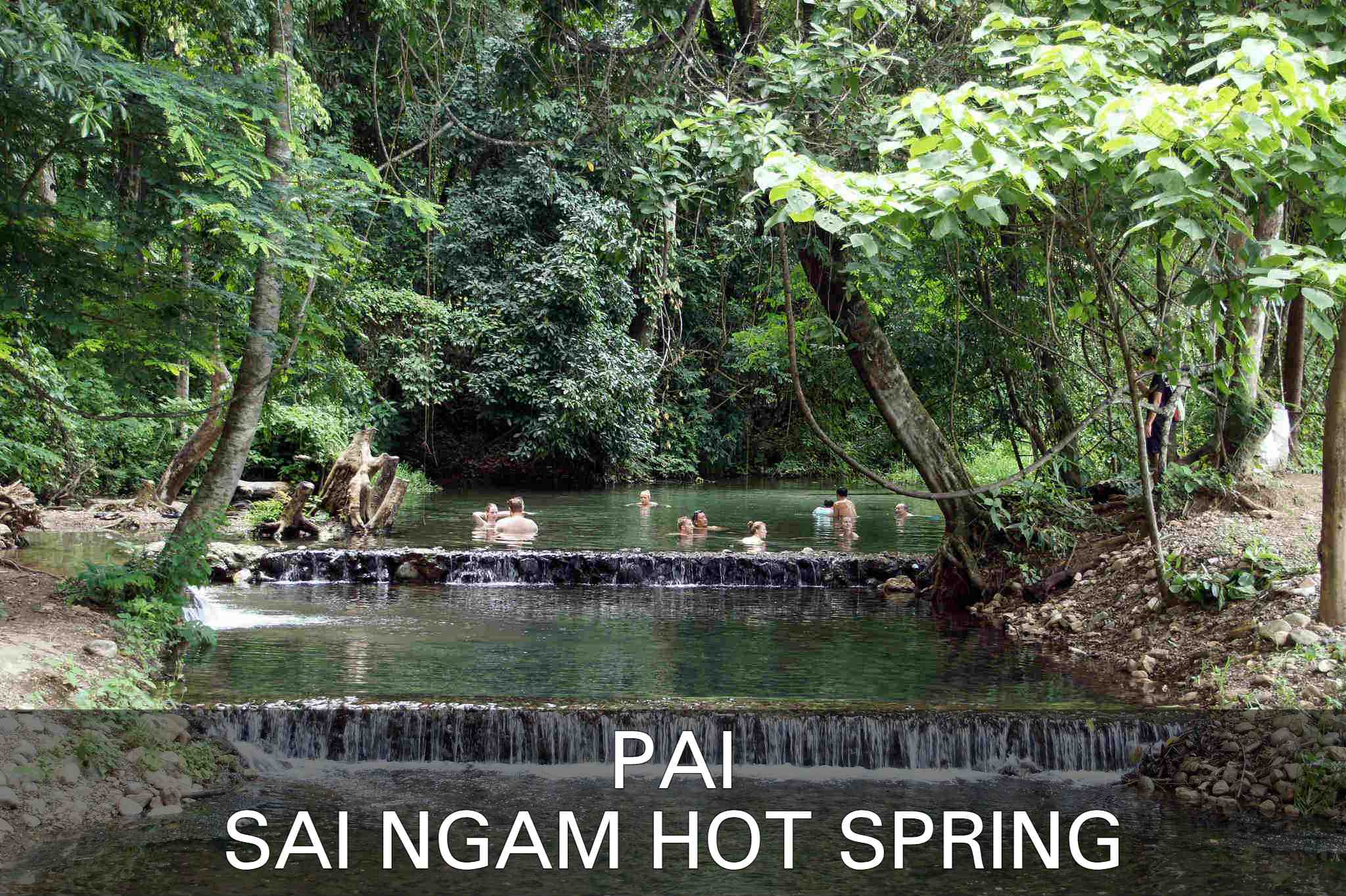 read about Sai Ngam Hot Spring in Pai
