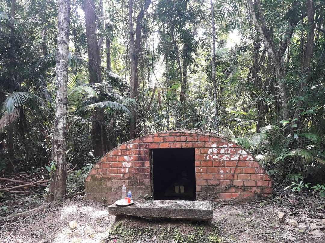 Overblijfselen van het gevangeniseiland Koh Tarutao