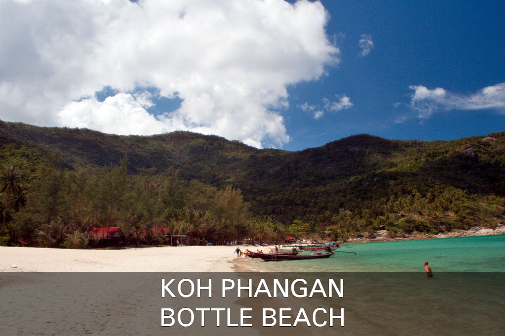Bottle Beach op Koh Phangan in Thailand