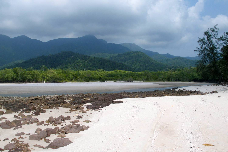 View of the coast of Koh Tarutao