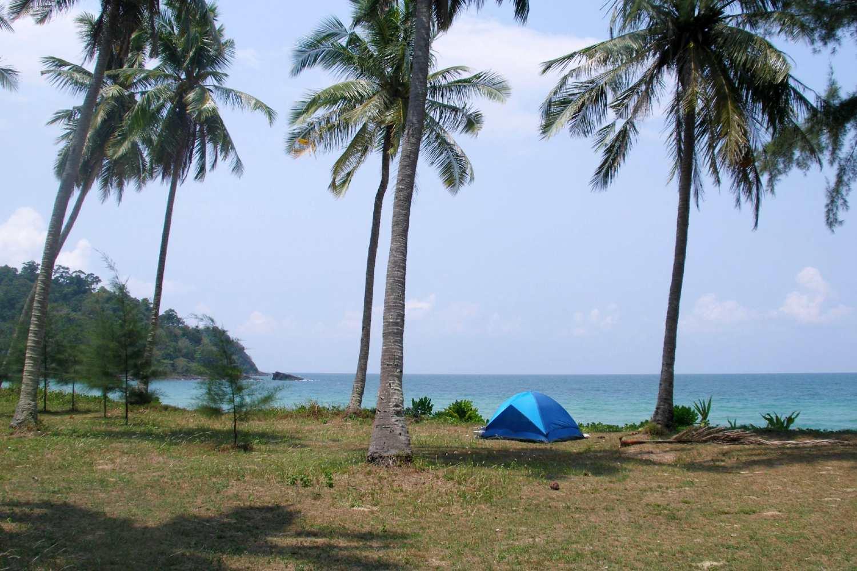 Camping on Koh Tarutao