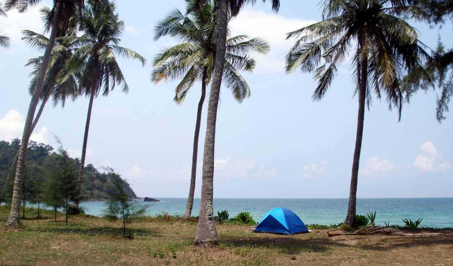 Kamperen op Koh Tarutao