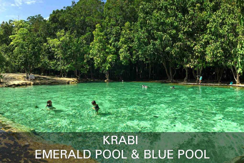 Emerald Pool & Blue Pool, Krabi