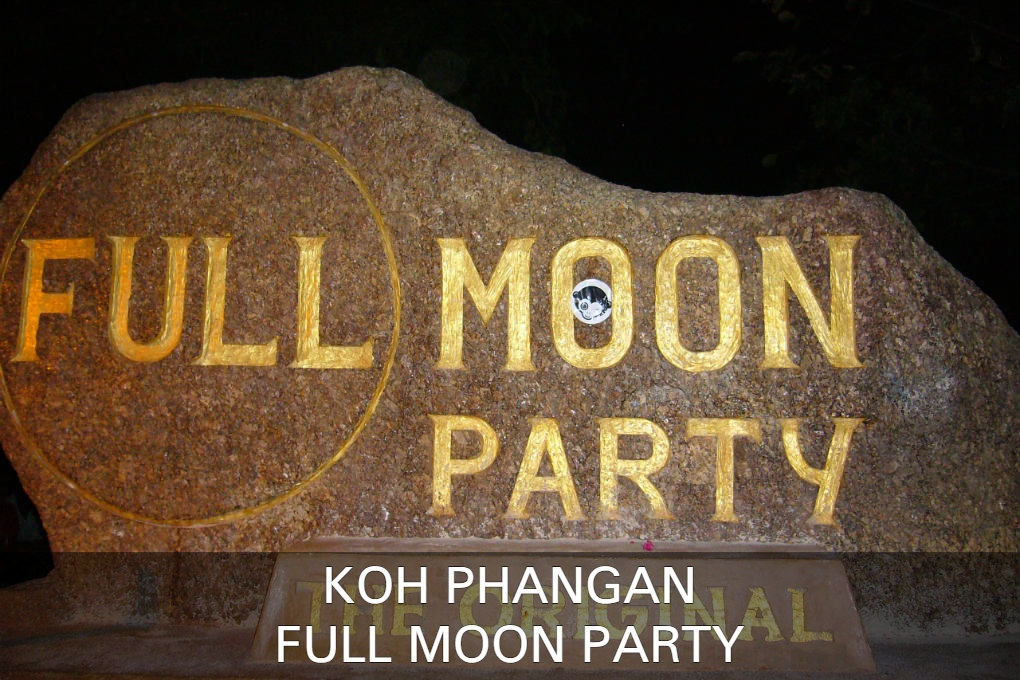 Full Moon Party Op Koh Phangan In Thailand