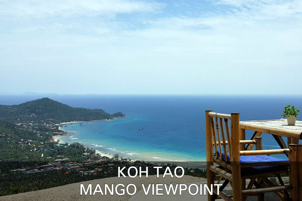 Mango Viewpoint Op Koh Tao In Thailand