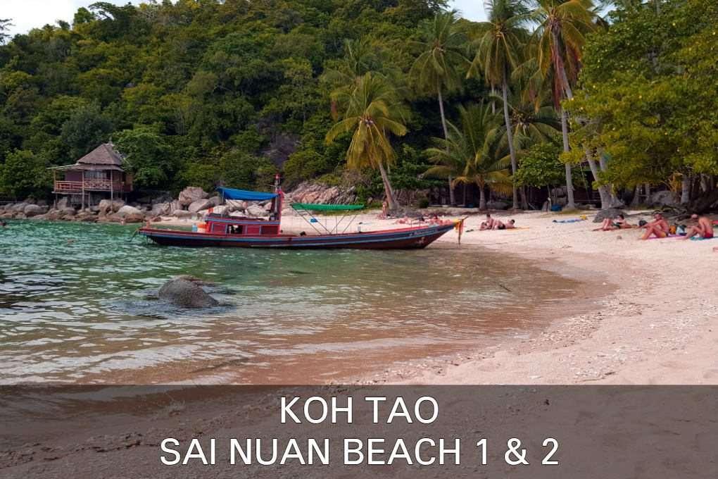 Sai Nuan Beach Op Koh Tao In Thailand