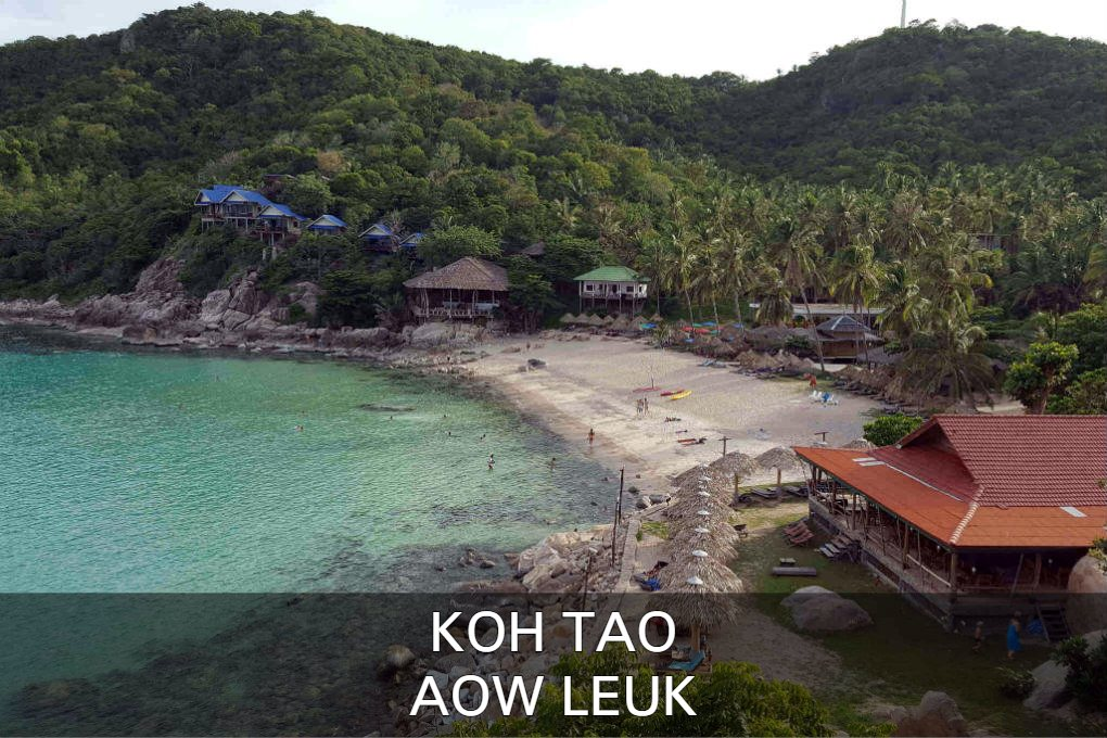 Aow Leuk Op Koh Tao In Thailand