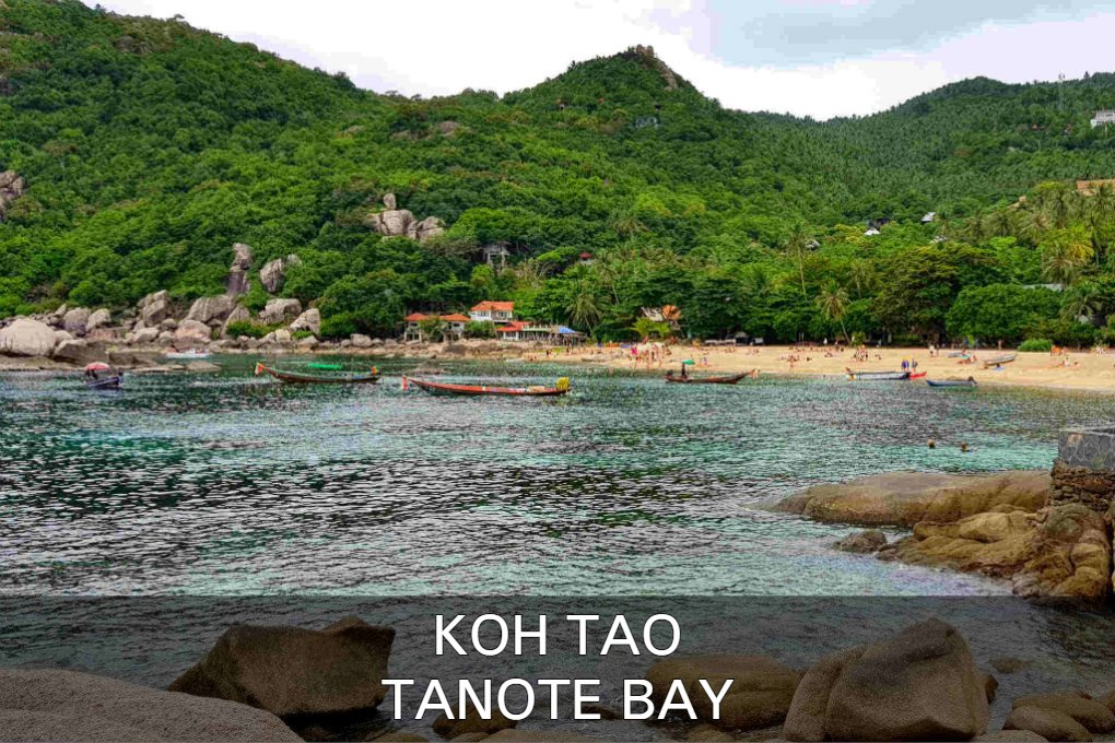 Tanote Bay Op Koh Tao In Thailand