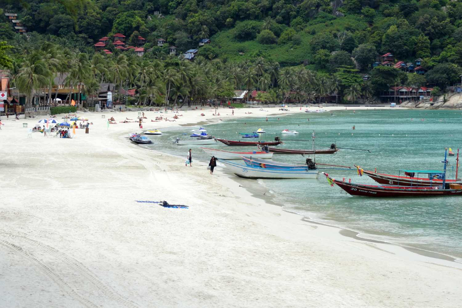 Haad Rin Nok Sunrise Beach in Koh Phangan