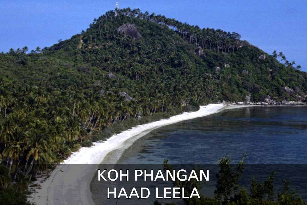 View At Haad Leela, Leela Beach Or Sarikantang Beach In Koh Phangan, Thailand