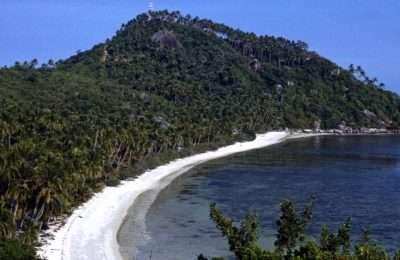 View At Haad Leela, Leela Beach Or Sarikantang Beach In Koh Phangan, Thailand