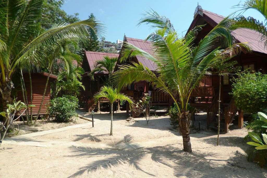 Hutjes van Haad Salad Resort op Haad Salad, op het eiland Koh Phangan in Thailand