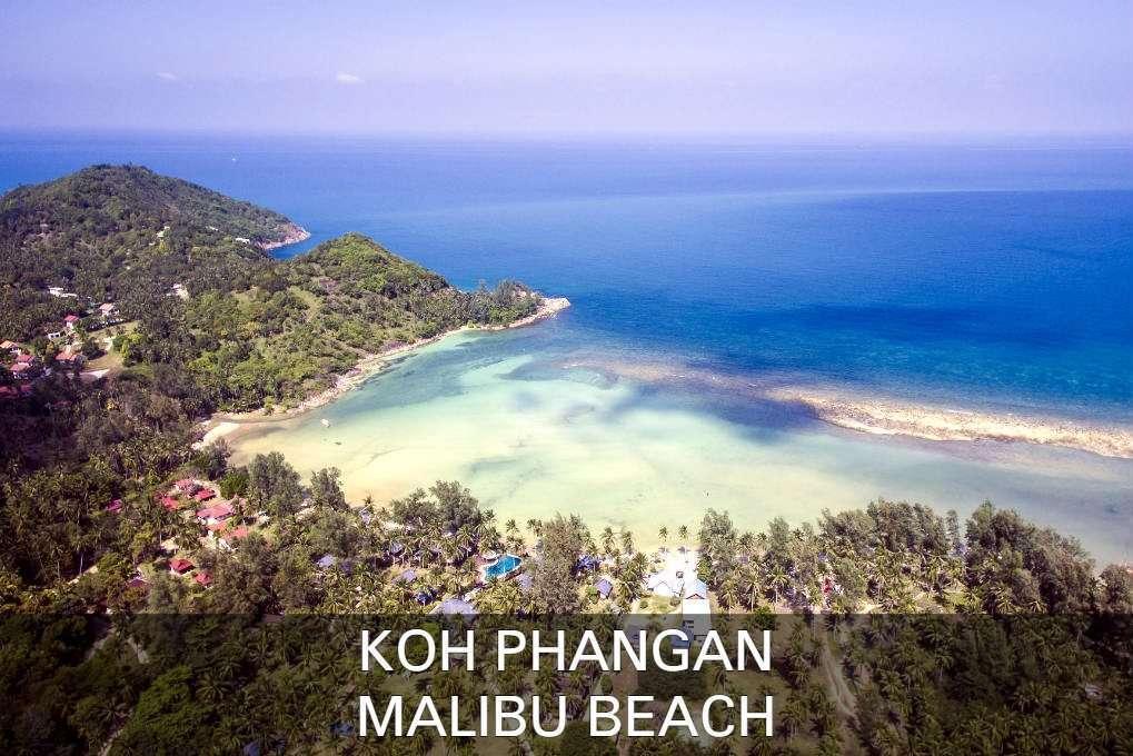 Mailbu Beach Op Koh Phangan In Thailand