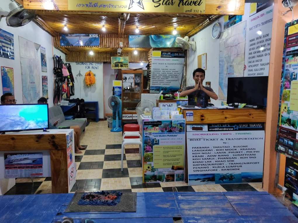 Star Travel in Koh Lipe Walking Street
