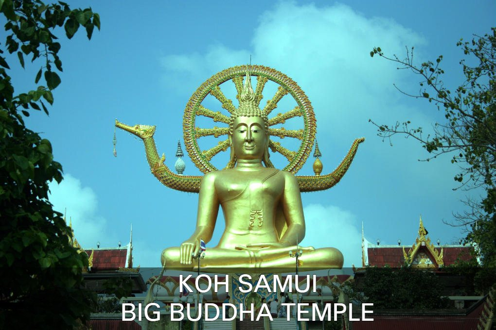 Foto Big Buddha Temple, Klik Hier Voor Alle Informatie Over Deze Tempel Op Het Eiland Koh Samui In Thailand