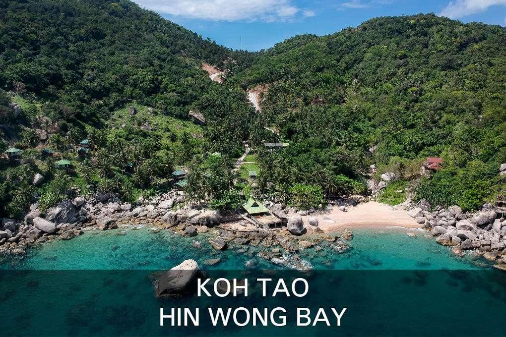 Hin Wong Bay Op Koh Tao In Thailand