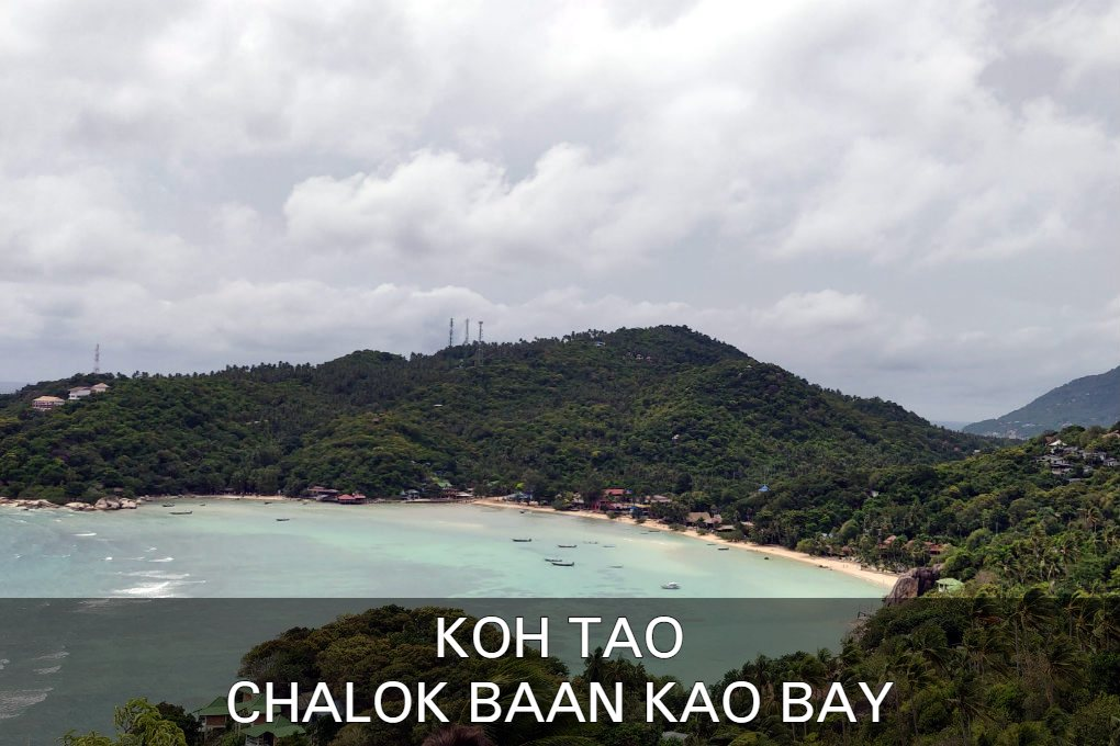 Chalok Baan Kao Bay Op Koh Tao In Thailand