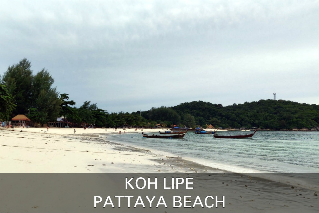 Pattaya Beach Op Koh Lipe In Thailand