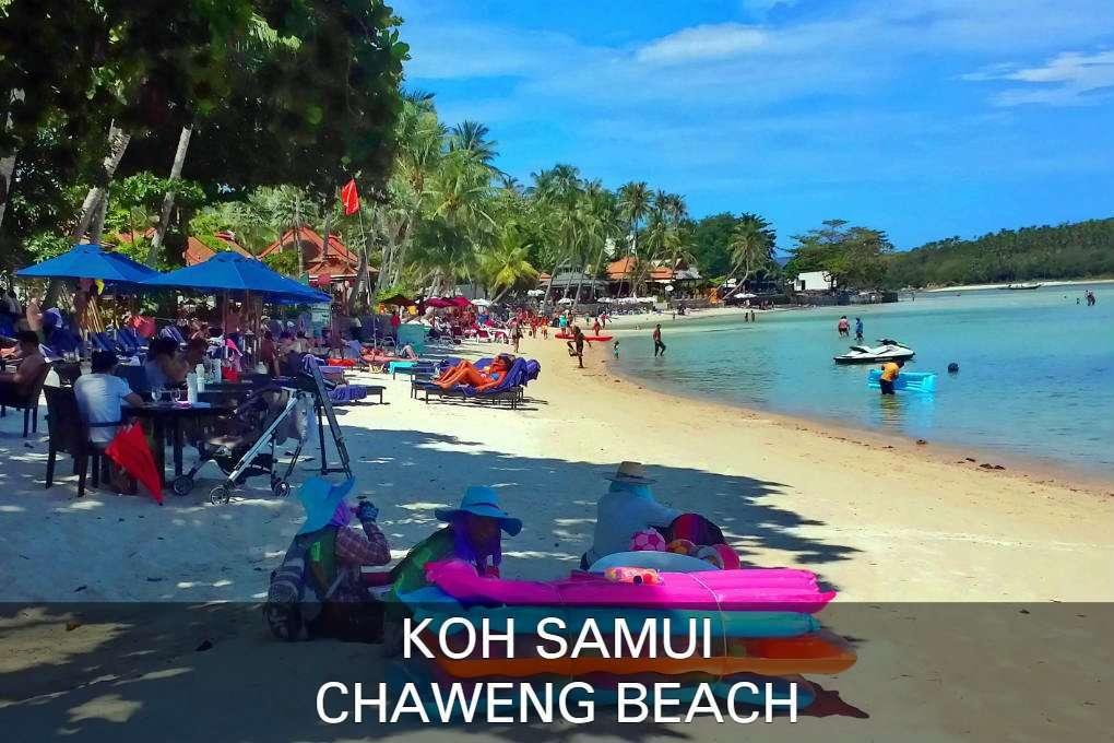 Foto Chaweng Beach, Klik Hier Voor Alle Informatie Over Chaweng Beach Op Het Eiland Koh Samui In Thailand