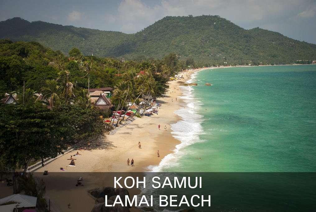Foto Lamai Beach, Klik Hier Voor Alle Informatie Over Lamai Beach Op Het Eiland Koh Samui In Thailand.