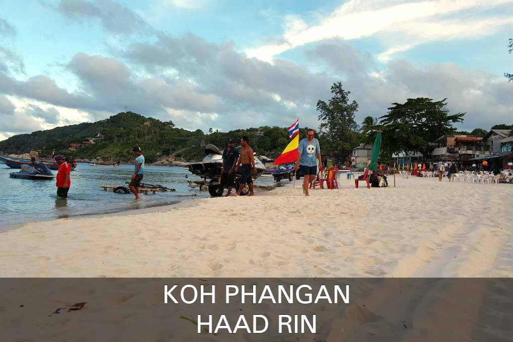Haad Rin Nok Sunrise Beach In Koh Phangan, Thailand
