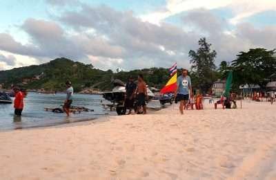 Haad Rin Nok Sunrise Beach In Koh Phangan, Thailand