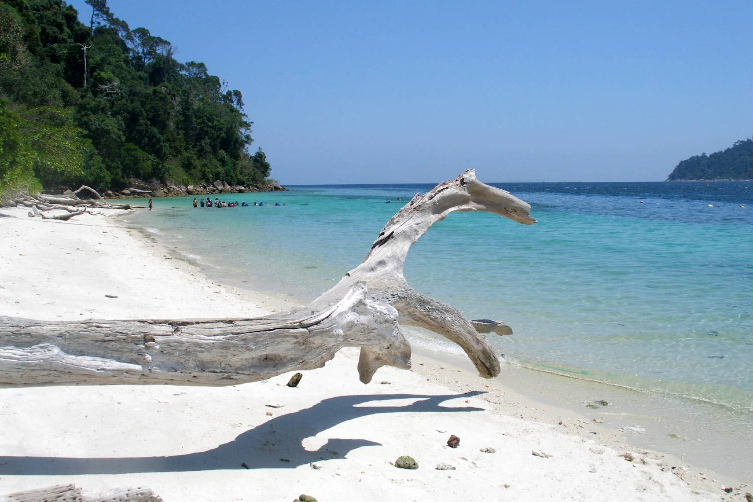 Koh Ra Wi located in the Tarutao National Park