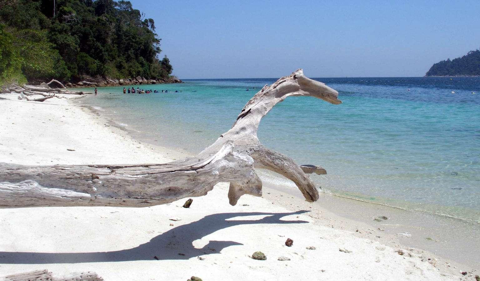 Strand van Koh Ra Wi in het Tarutao National Park