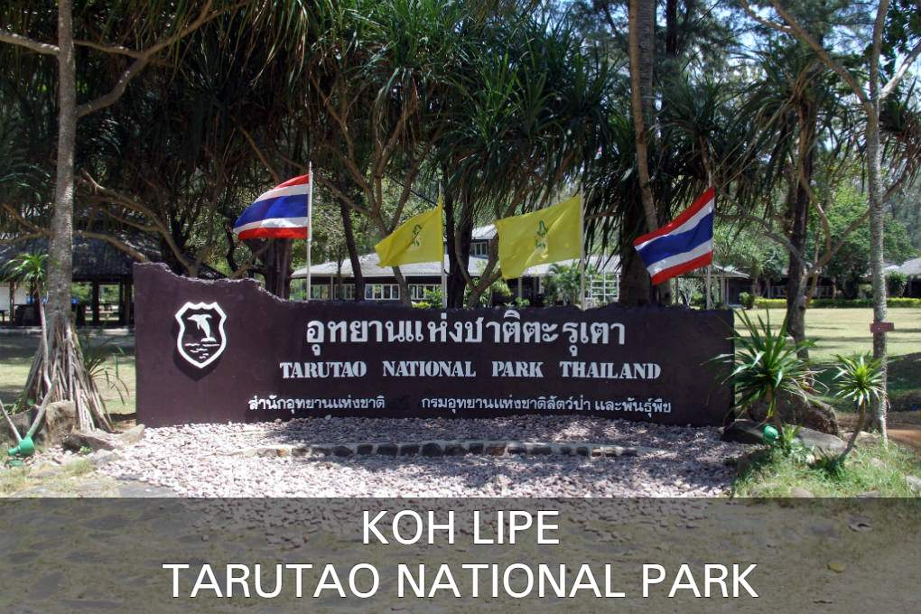 Tarutao National Park in Thailand