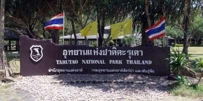Tarutao National Park Entree Bord