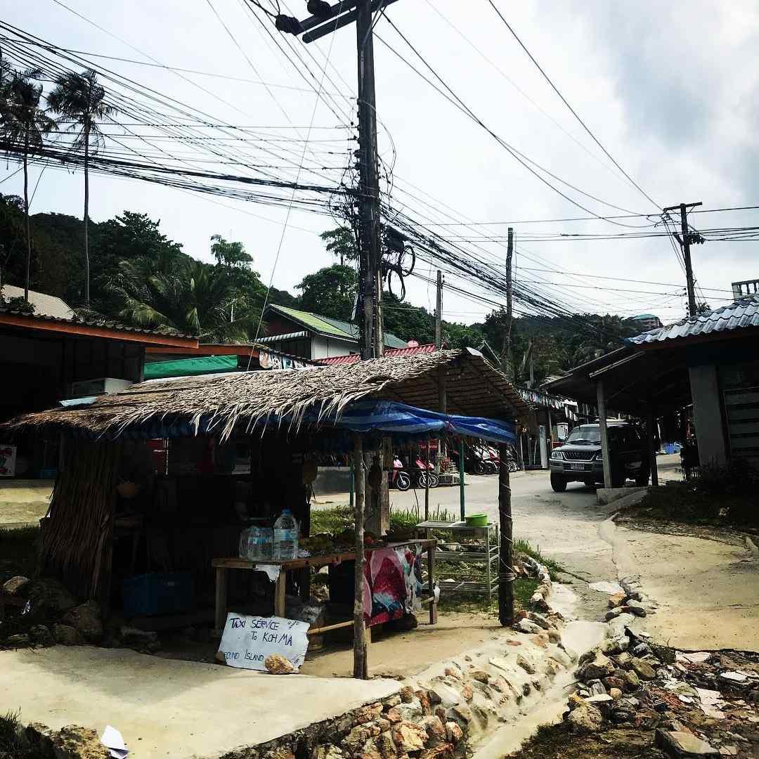 The village of Haad Salad in Koh Phangan