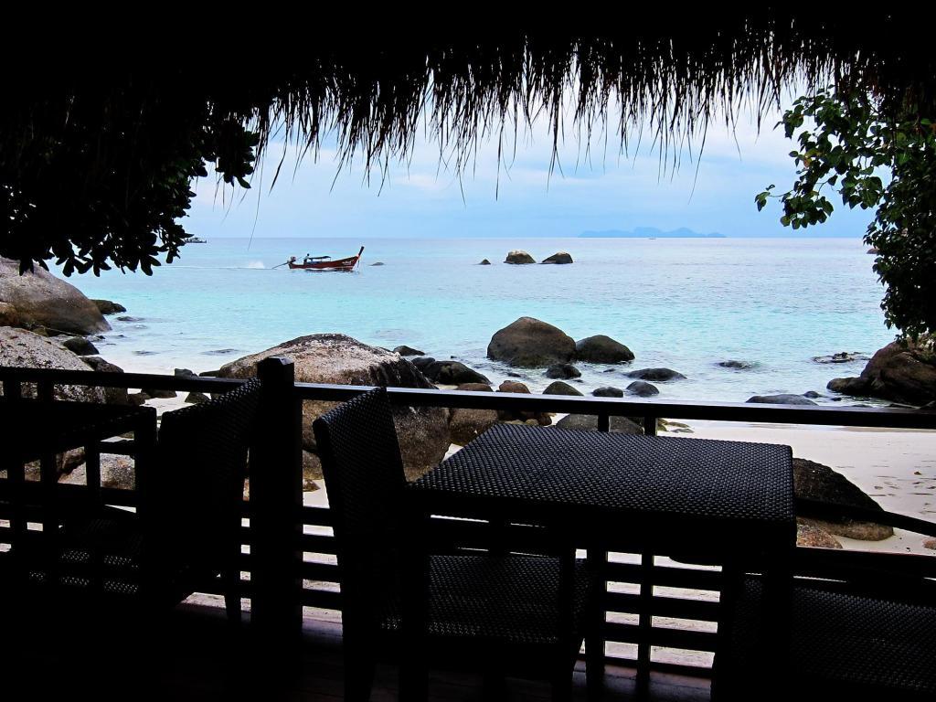 View of the Ten Moons Lipe Resort (one of the Best Hotels on Koh Lipe)