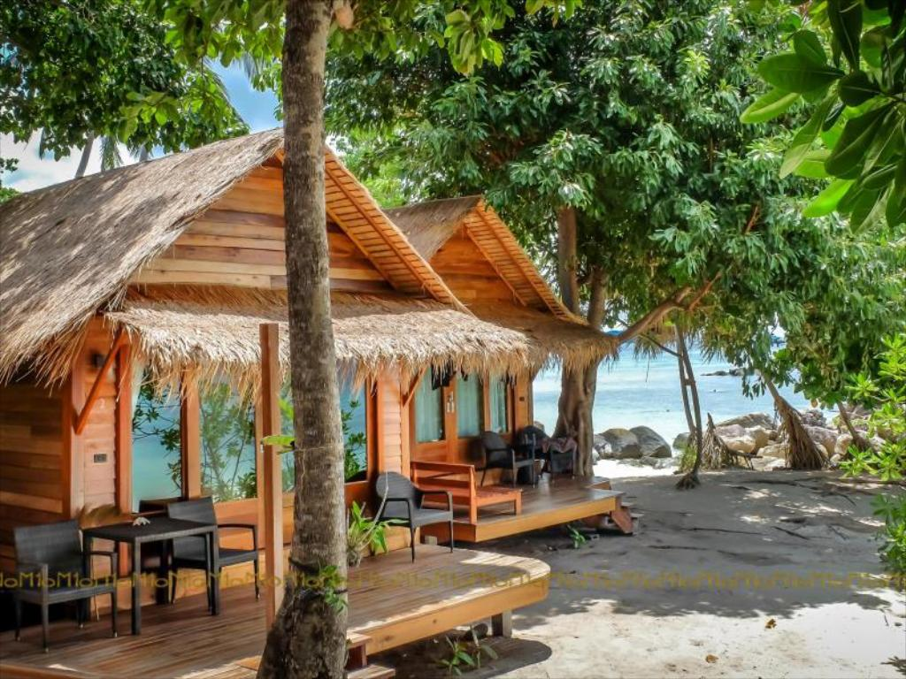 Bungalows of the Ten Moons Lipe Resort (one of the Best Hotels on Koh Lipe)