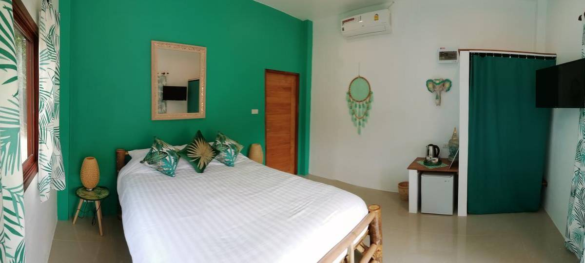 Bedroom of Carpe Diem Residence near Thong Sala on Koh Phangan
