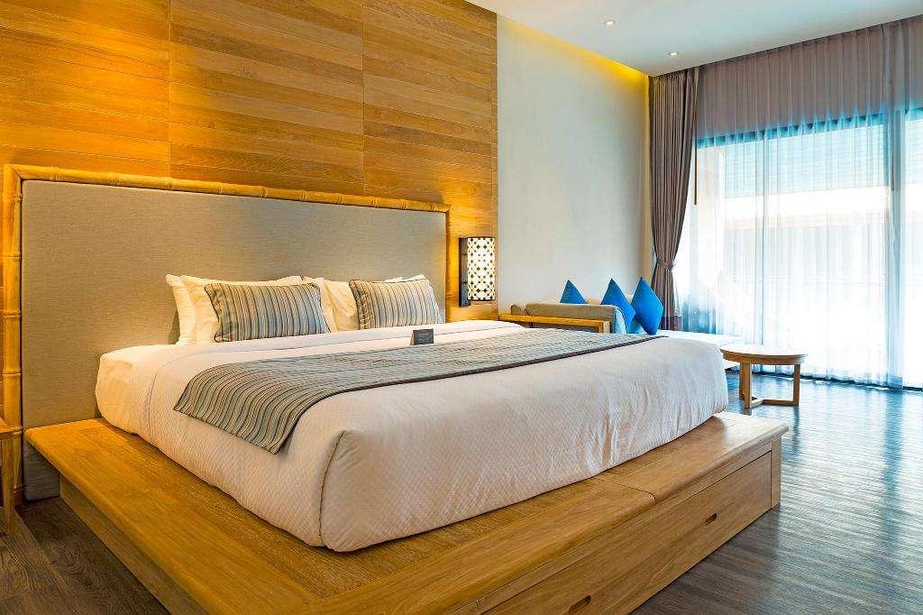 Bedroom of the Akira Lipe Resort (one of the Best hotels on Koh Lipe)