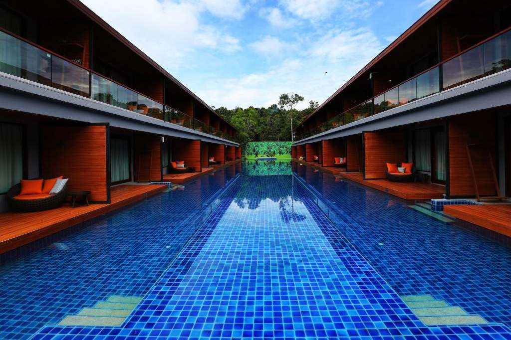 Swimming pool at the Akira Lipe Resort (one of the Best Hotels on Koh Lipe)