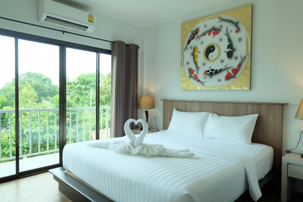 Double room of the A Lipe Hotel (one of the Best hotels on Koh Lipe)