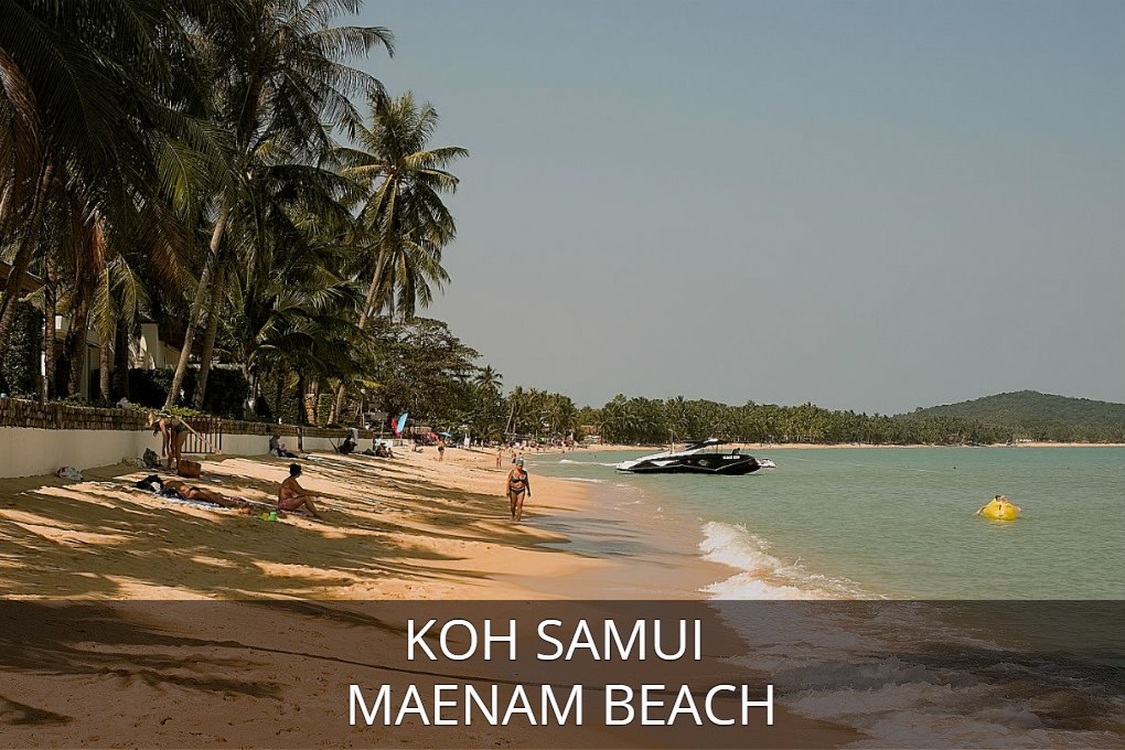 Photo Maenam Beach, click here for all information about Maenam Beach on the island of Koh Samui in Thailand.