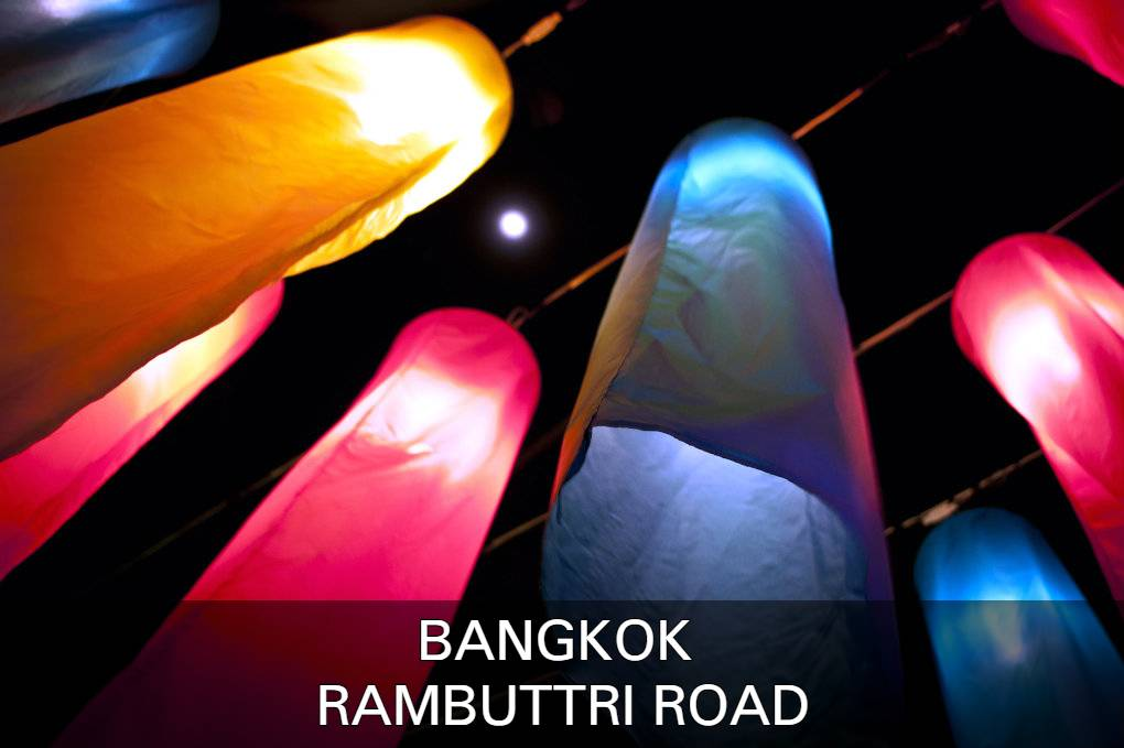Photo with link to Rambuttri Road, one of Bangkok's popular neighborhoods