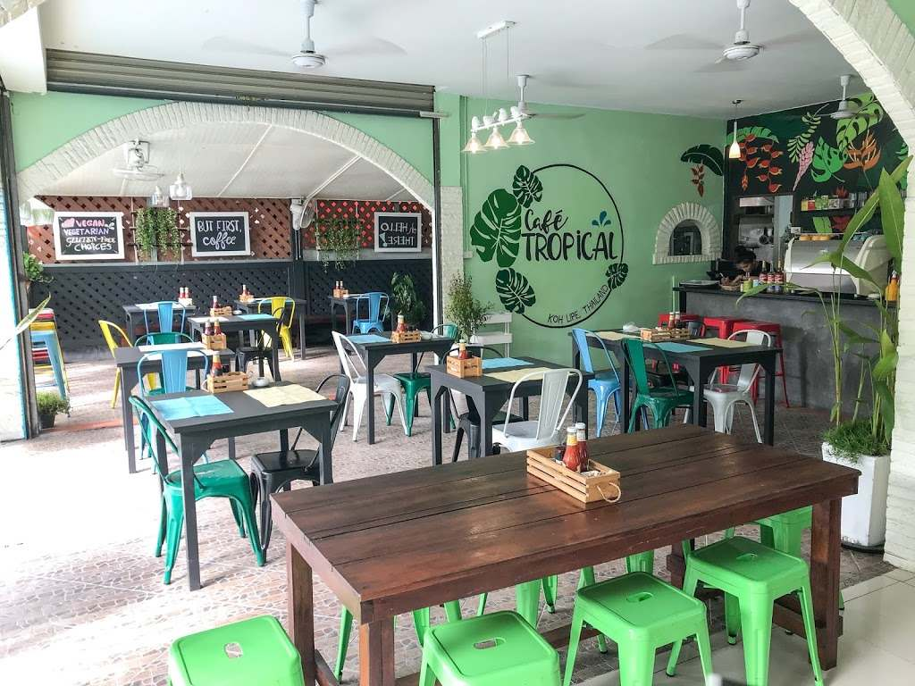 Inside of Café Tropical Koh Lipe (one of the best restaurants of Koh Lipe)