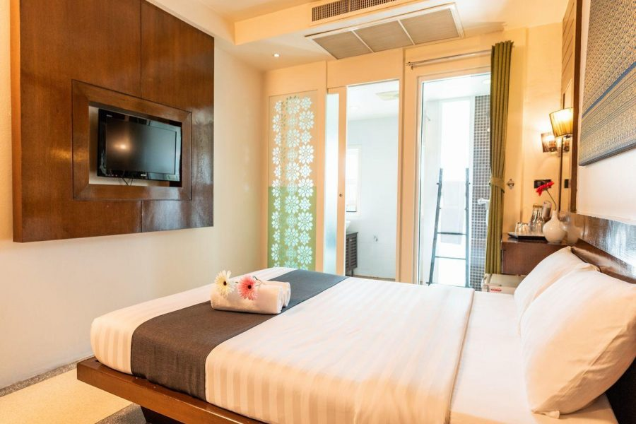 Superior Double Room at D&D Inn in the middle of Khao San Road