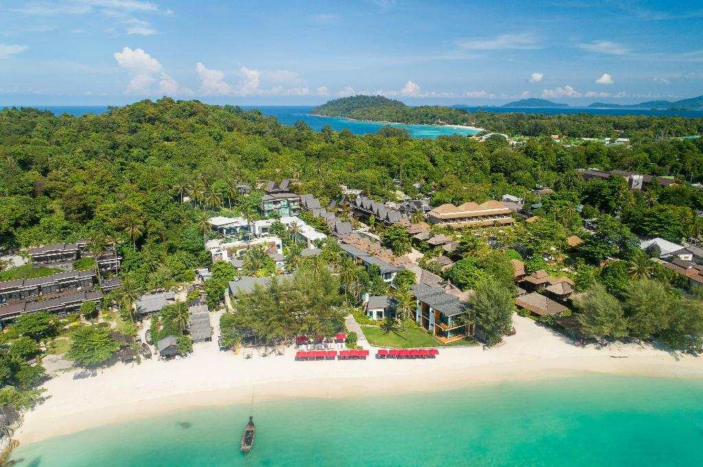 The grounds of the Idyllic Concept Resort (one of the Best hotels on Koh Lipe)