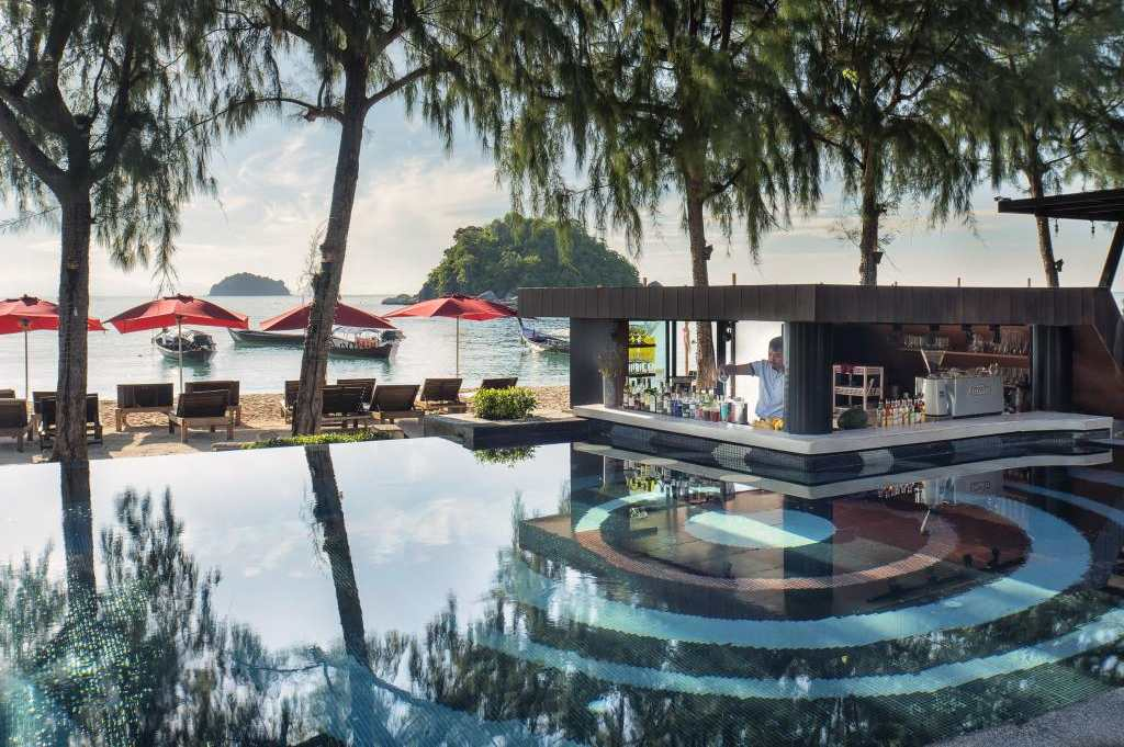 Swimming pool of the Idyllic Concept Resort (one of the Best Hotels on Koh Lipe)