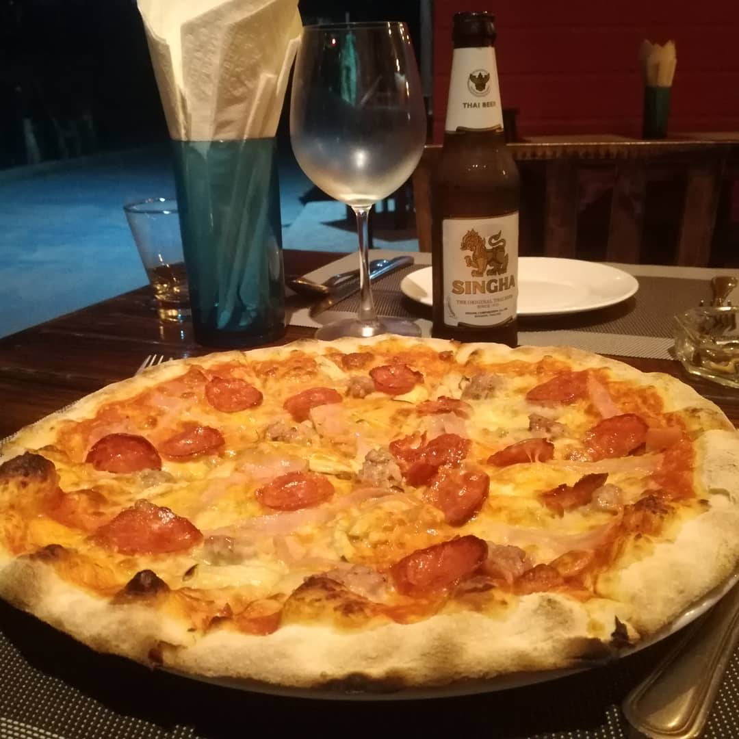 Pizza at Made in Italy (one of the Best restaurants on Koh Lipe)
