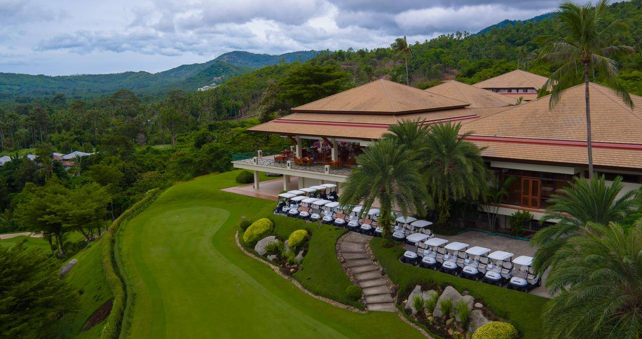 Golf Course of Santiburi Samui Resort