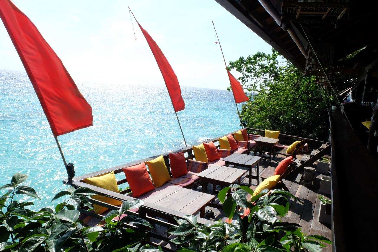 Restaurant of the Senrendipity Beach Resort (one of the Best hotels on Koh Lipe)