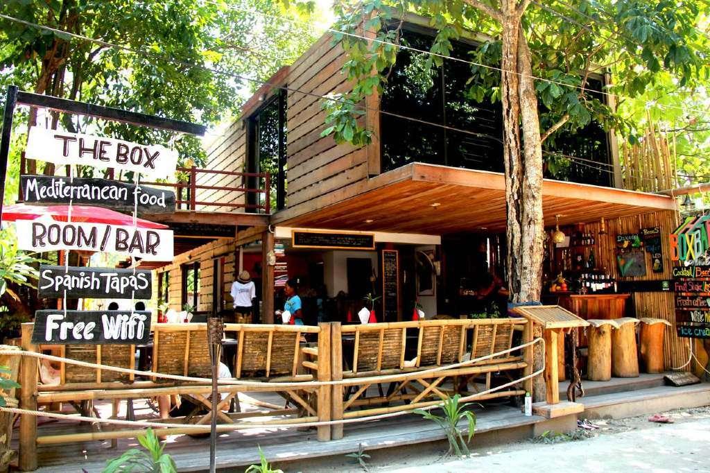 Restaurant of The Box Lipe Resort (one of the Best hotels on Koh Lipe)