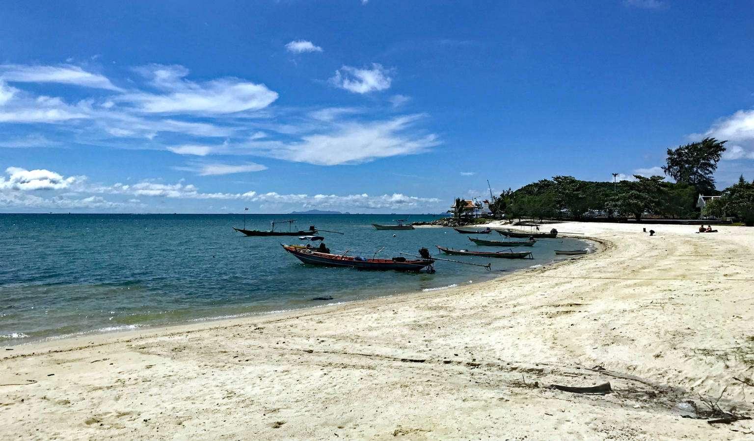 Het strand van Thong Sala in Koh Phangan, Thailand
